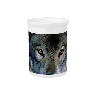 Wolf Portrait Pitchers