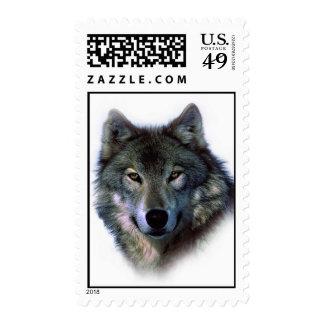 Wolf Portrait Stamp
