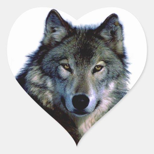 Wolf Portrait Stickers