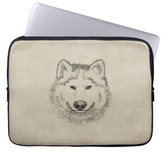 Wolf Power Computer Sleeve