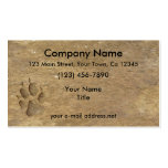Wolf Print, Business Card