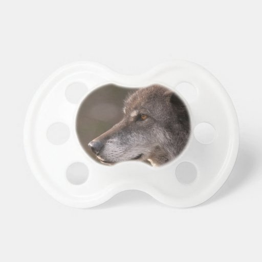 Wolf Profile Pacifier