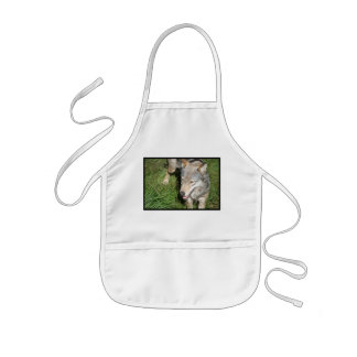 Wolf Prowl Small Apron
