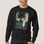 Wolf Pullover Sweatshirts