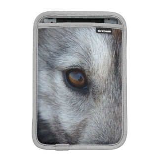 Wolf Pup iPad Mini Sleeve Husky Wolf Sled Dog Gift