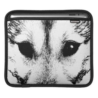 Wolf Pup iPad Sleeve Husky Wolf Sled Dog iPad Gift