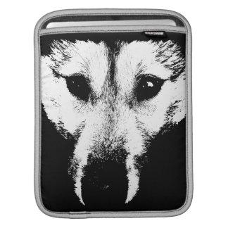 Wolf Pup iPad Sleeve Husky Wolf Sled Dog iPad Gift