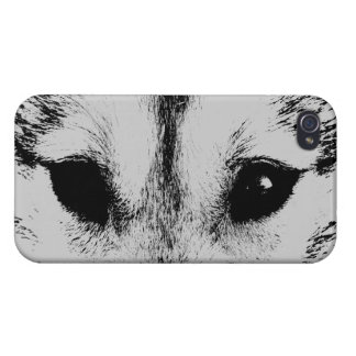 Wolf Pup iPhone 4 Case Husky Wolf Dog Cases