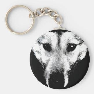 Wolf Pup  Keychain Wild Dog Keepsakes & Gifts