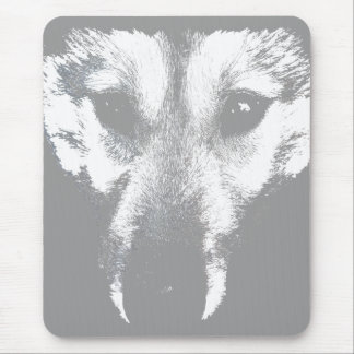 Wolf Pup Mousepad Gifts Sled Dog Husky Dogs