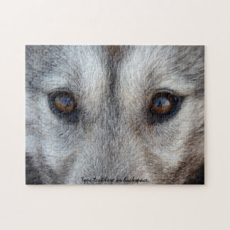 Wolf Pup Puzzle Personalized Wolf Eyes Gifts