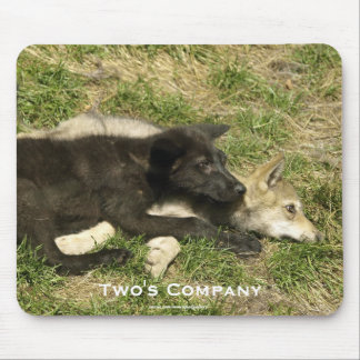Wolf Puppies Friendsphip Wildlife Mousepad