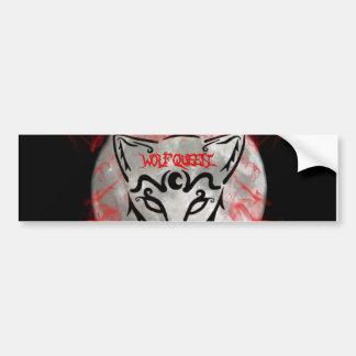Wolf Queen Bumper Sticker 2