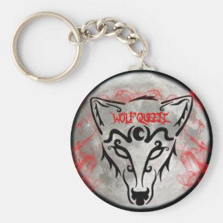 Wolf Queen Keychain Keychain
