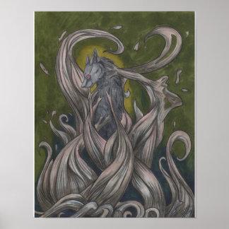 Wolf Queen Poster