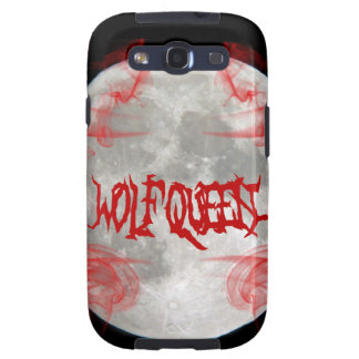 Wolf Queen Samsung Galaxy S3 Phone Cover Galaxy S3 Cases