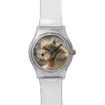 Wolf Rain Graphic Art Wristwatch