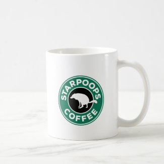 Wolf Ralf - Starpoops coffee mug