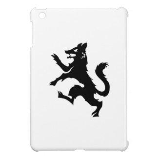 Wolf Rampant Heraldry iPad Mini Case