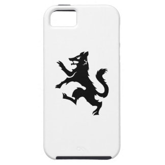 Wolf Rampant Heraldry iPhone 5 Case