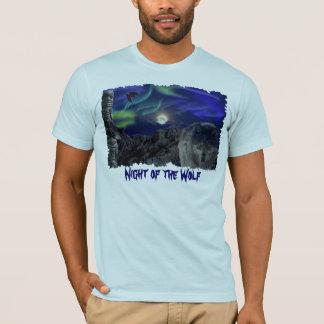 Wolf, Ravens, Totem Pole & Aurora T-Shirt