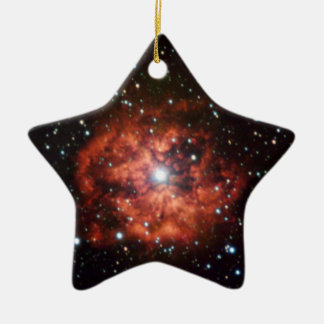 Wolf-Rayet star Double-Sided Star Ceramic Christmas Ornament