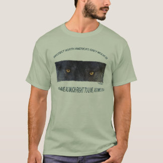 WOLF RIGHT TO LIVE T-shirt