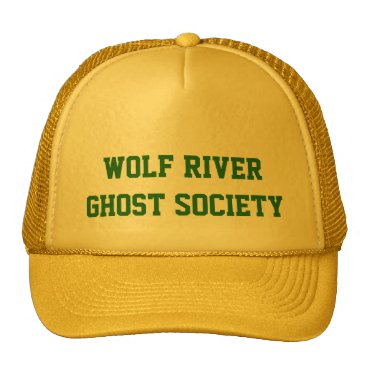 Halloween Themed Wolf River Ghost Society Trucker Hat