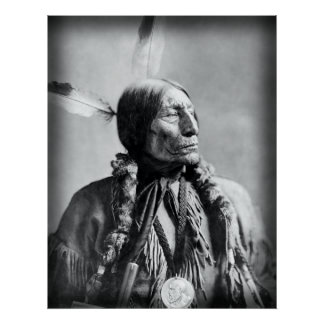 Wolf Robe - Chief of the Cheyenne 1904 Poster