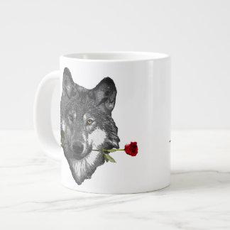 Wolf Rose Jumbo Mugs