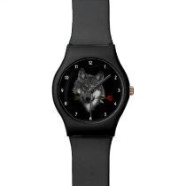 Wolf Rose Wrist Watch