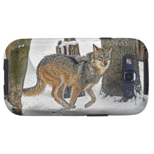 Wolf Run Galaxy S3 Cover
