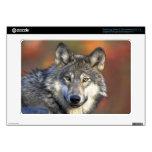 Wolf Samsung Chromebook Decal