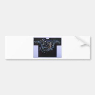 Wolf Serenade Bumper Sticker