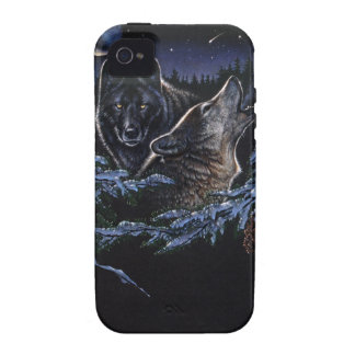 Wolf Serenade Case-Mate iPhone 4 Cover