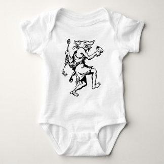 Wolf Shaman Baby Bodysuit