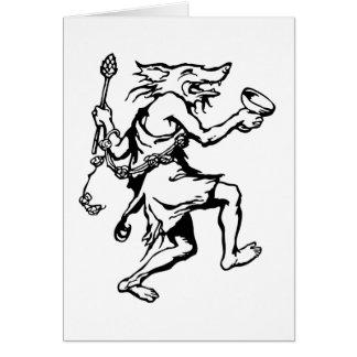 Wolf Shaman Card