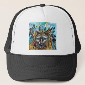 Wolf Shaman Spirit Trucker Hat