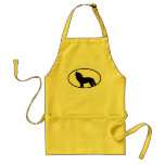 Wolf Silhouette Aprons