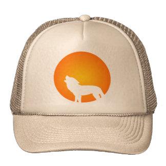 Wolf Silhouette Trucker Hat