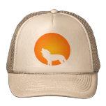 Wolf Silhouette Trucker Hats