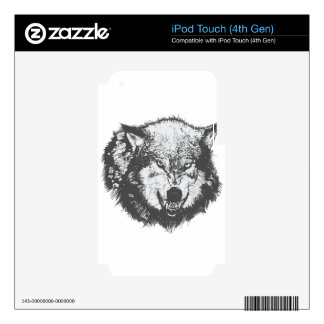 Wolf Skin For iPod Touch 4G