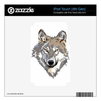 Wolf Skins For iPod Touch 4G