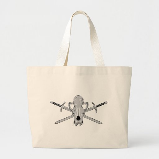 Wolf skull and Swords Bags
