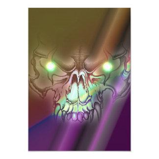 Wolf Skull Card