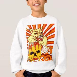 Wolf Skull Fire Sweatshirt