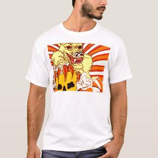 Wolf Skull Fire T-Shirt