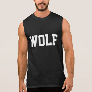 Wolf Sleeveless T-shirt