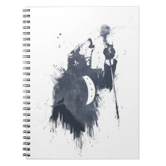 Wolf song notebook