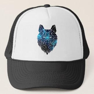 wolf space trucker hat